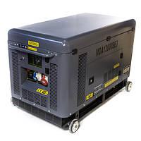 Дизельгенератор трехфазный 10 кВт с АВР Matari MDA12000SE3-ATS