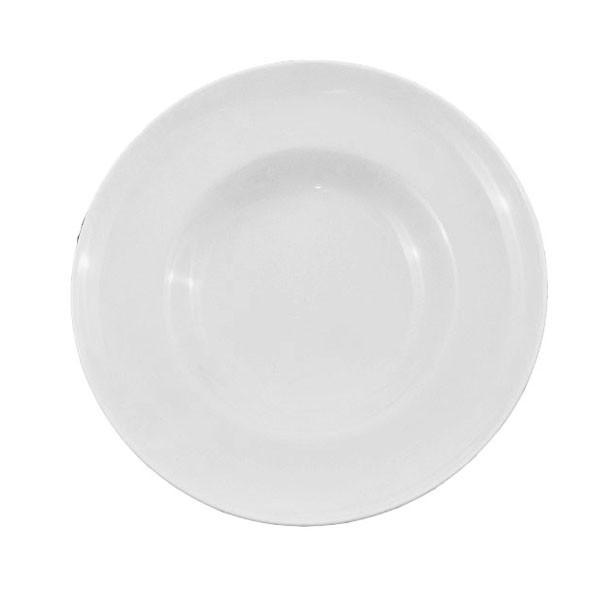 Тарелка фарфоровая глубокая 300 мм.