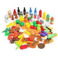 120 в 1 Продовольственная вегетарианская фруктовая игрушка Костюм Дошкольное Приготовление кухни Играть Набор Дети Подарок Дева