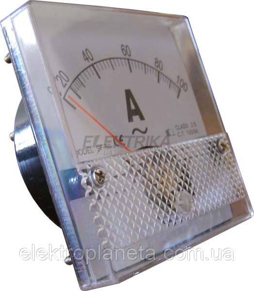 АС Амперметр 100/5 80х80