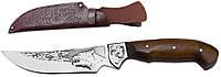 Нож охотничий ГОЛОВА МЕДВЕДЯ (нескладной нож для охоты) MHR /05-31