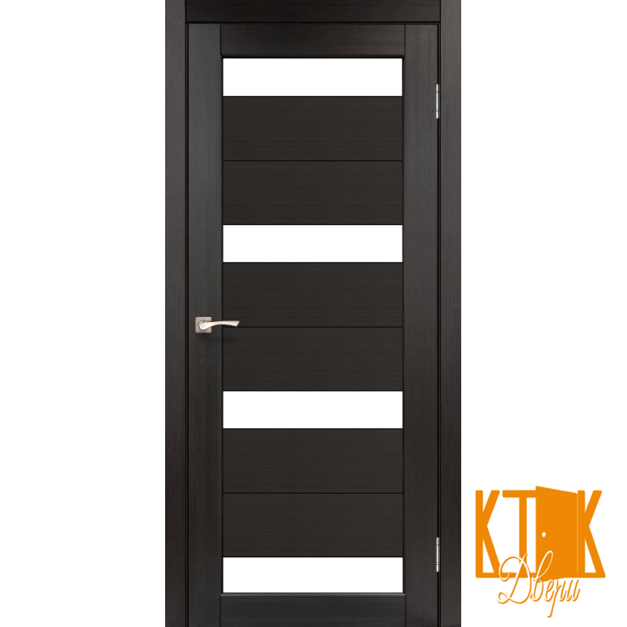 """Межкомнатная дверь коллекции """"Porto"""" PR-06 (венге)"""
