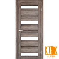 """Межкомнатная дверь коллекции """"Porto"""" PR-06 (дуб грей)"""