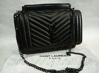 Yves Saint Laurent в стиле  женская сумка клатч кожа