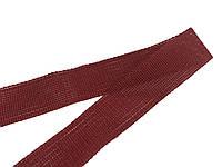 Лента оконтовочная 18 мм бордовый