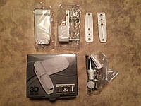 Петля для металлопластиковой двери T&T 3D 130 кг.