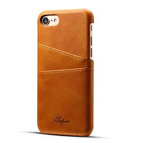 Слот для карточек из натуральной кожи премиум-класса Чехол для iPhone 6s Plus/6 Plus 5.5 - 1TopShop