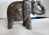 Слон из натуральные камень яшмы