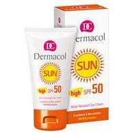 DC SUN Cream Крем для загара SPF 50 водостойкий, смягчающий, 50 мл