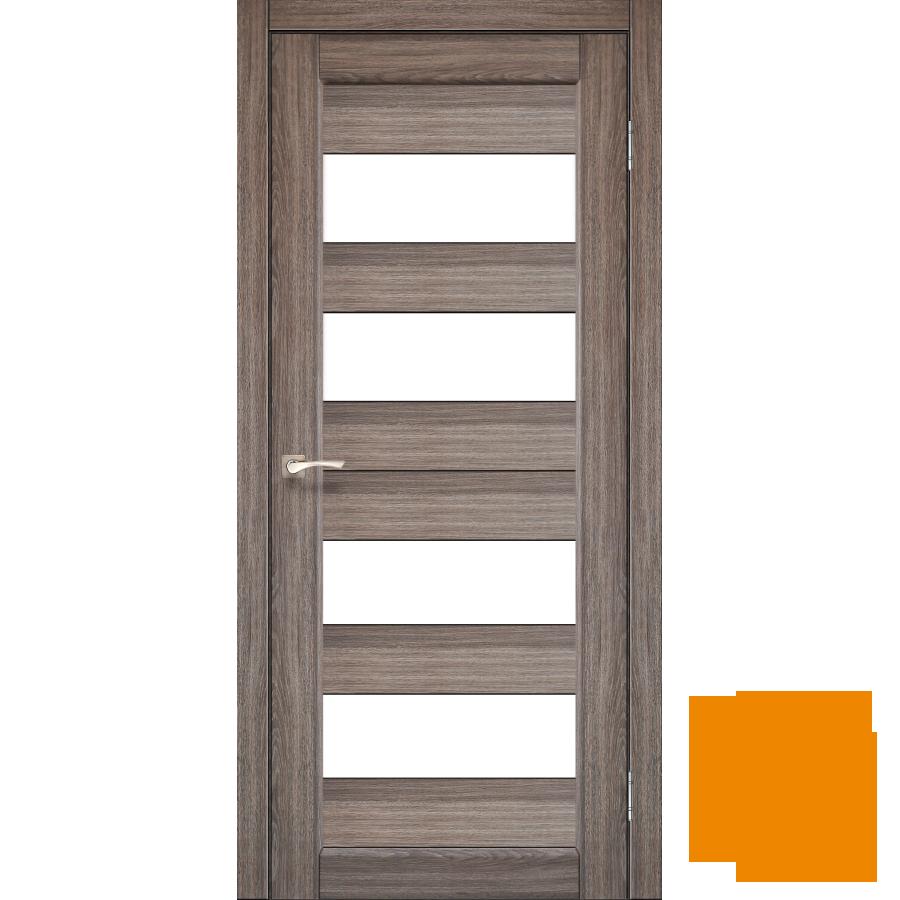 """Межкомнатная дверь коллекции """"Porto"""" PR-07 (дуб грей)"""