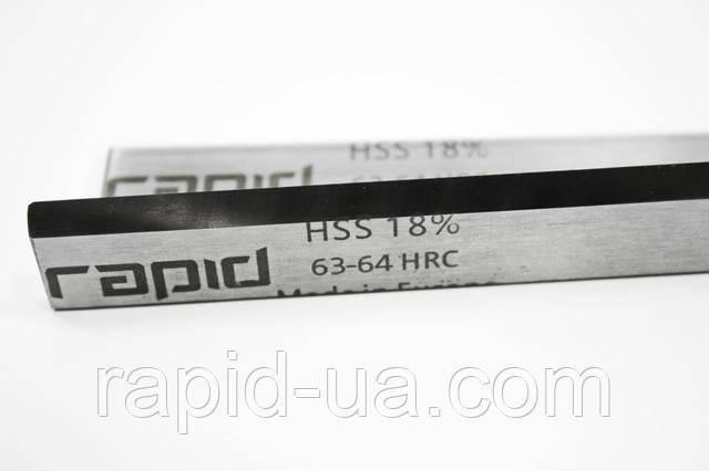 Стругальний фугувальний ніж HSS 18% 80*16*3 (80х16х3)