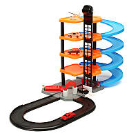 DIYТрекгонкиЛейн3Dпарковки Железнодорожная железная дорога Авто Игровые автоматы для детей Детский подарок