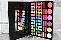 Палитра 78 цветов для макияжа (60 теней +12 помад + 6 румян))