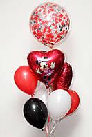 Букет шаров в стиле Микки Маус, фото 1