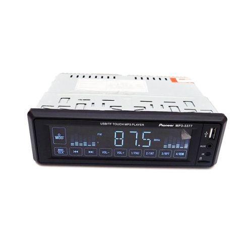 Автомагнитола ISO 1DIN сенсорные кнопки магнитола MP3-3377