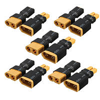 5Pairs XT60 Female Female Plug to XT30 Female Female Plug Коннектор