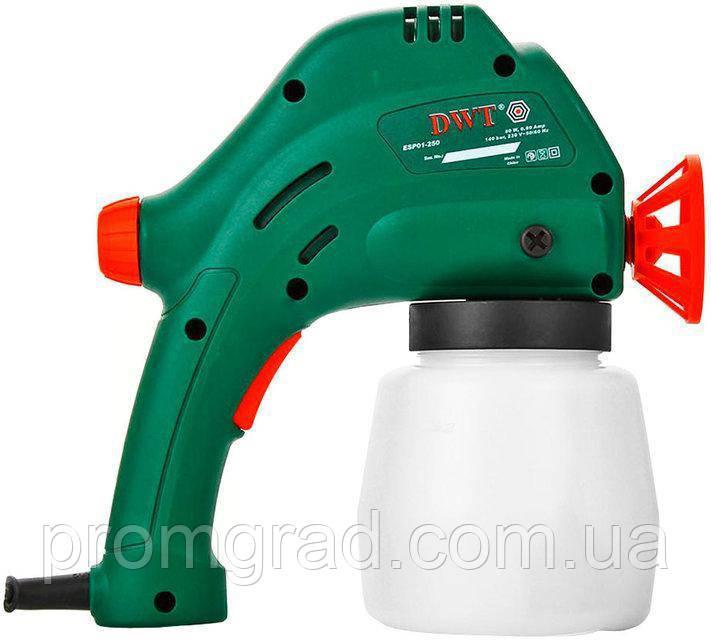 Краскопульт DWT ESP01-250 (нижн. бачок)