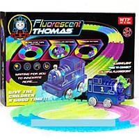 Детская железная дорога-трек Fluorescent Thomas (паровозик Томас) - лучший подарок для ребенка