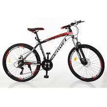 Велосипед 26 дюймов EB26FORMAT A26.1 алюминевый рама, двойной алюминевый обод