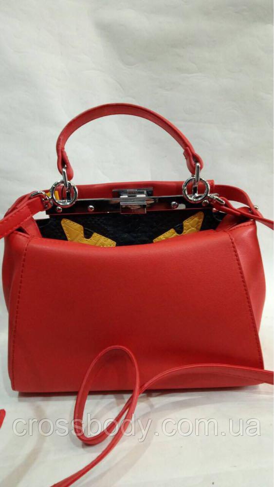ab0a5b0202dd Женская сумка Fendi monsters в стиле - Интернет - магазин