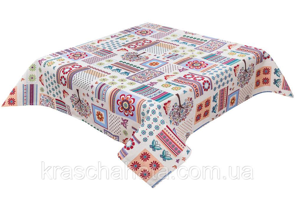 Скатерть гобеленовая, 140х180 см, Эксклюзивные подарки, Столовый текстиль