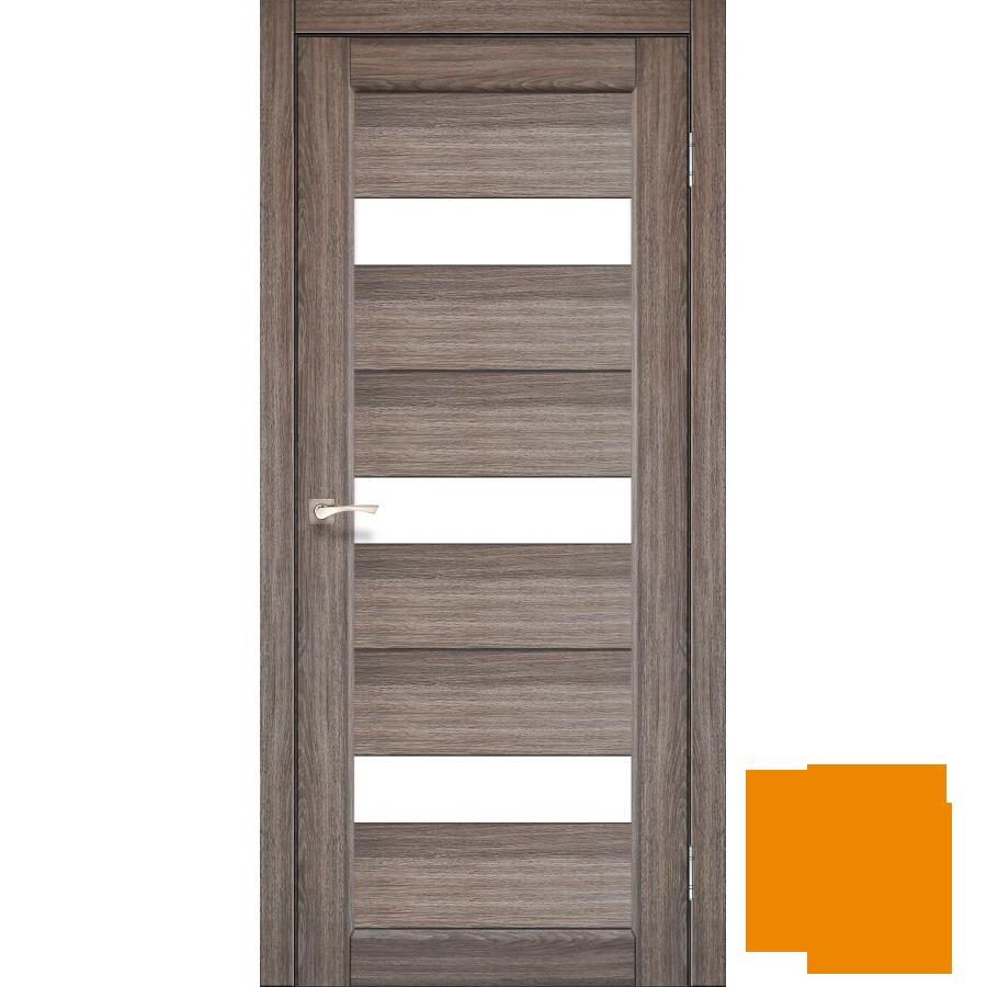 """Межкомнатная дверь коллекции """"Porto"""" PR-11 (дуб грей)"""
