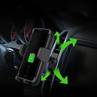 5W QI Авто Держатель для зарядного устройства,используемый для вентиляции воздуха для iPhone X/iPhone 8/iPhone 8 Plus Samsung