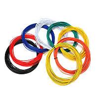 Excellway® 1007 Провод 10 метров 20AWG 1,8 мм ПВХ с электронным кабелем изоляции LED Провод Для DIY