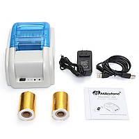 Mini Wireless 58mm Portable Bluetooth Термальный принтер для телефонного ящика