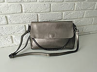 """Женская кожаная сумка """"Синди2b, Silver"""", фото 1"""