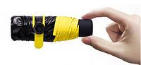 Компактний Кишеньковий Парасолю з Нано-Покриттям Black Nano L