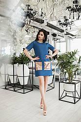 Джинсовое платье 3704