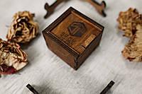 Деревянная коробочка для флешки, фото 1