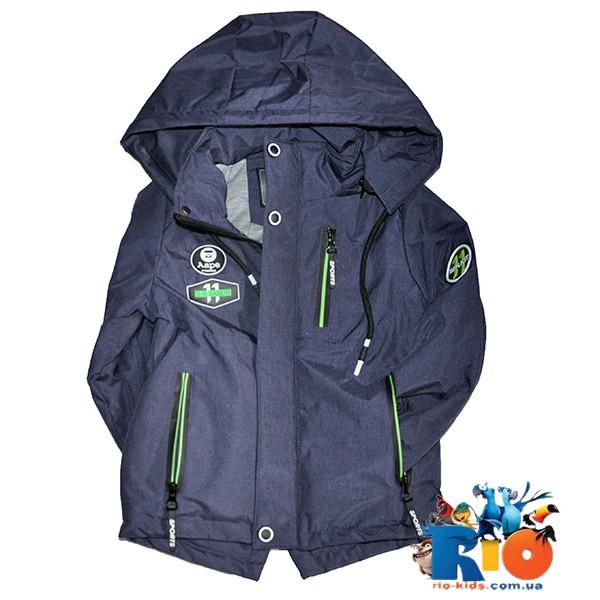 """Куртка весенняя """"Coot bol"""" на подкладке, для мальчика ростом  86-110 см, 5 ед. в уп."""