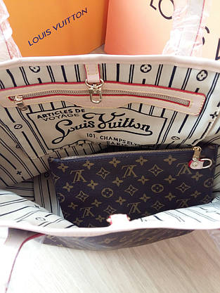 Сумка Louis Vuitton Neverfull Меdium монограмм классическая, фото 3