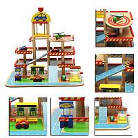 СборкасимуляцииБольшойстереотрехслойныйдеревянный Авто Набор для дорожной одежды для детских игрушек