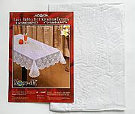 Скатерть Виниловая 75х120 (белая), фото 1