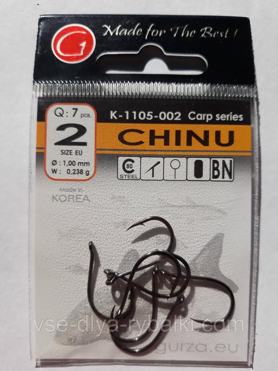 Крючки Gurza chinu № 2