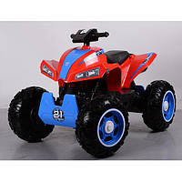 Квадроцикл детский M 3607 EL-3-4 свет, звук , mp3, красно-синий