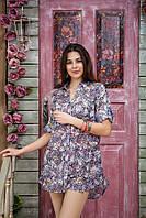 Блузка рубашка  женская  из натуральной ткани