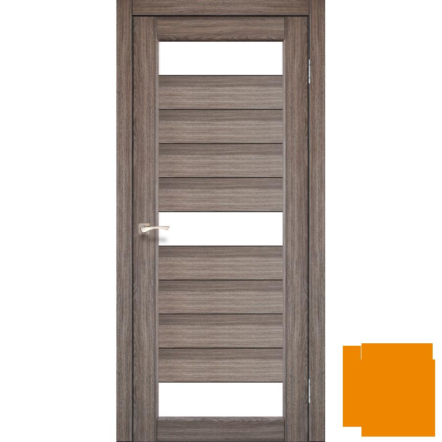 """Межкомнатная дверь коллекции """"Porto"""" PR-14 (дуб грей)"""
