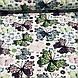 Хлопковая ткань польская  бабочки кружевные на белом №66, фото 2