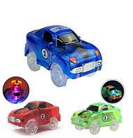 ЭлектроникаПятьпроблесковыхогней,играющихв свете свечения Гибкие гоночные автомобили для детей Игрушки для подарков