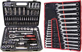 Набор ключей 108 шт + набор ключей 6-32 мм 25 шт
