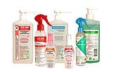 Засоби для гігієнічної обробки рук та шкіри