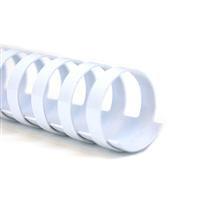 Пружина пластиковая 16мм бел