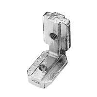 Suleve ™ LJ40 5 штук T Slot L Форма внутри угла Коннектор Шарнир для алюминиевого профиля 4040