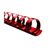 Пружина пластиковая 16мм красн