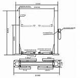 Подъемник двухстоечный электрогидравлический PL-4.0-2B, фото 3