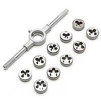 Метрический винт Die Гаечный ключ Комплект ручной работы Инструмент Высокоскоростная сталь